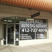 PENN HILLS AUTO TAG & NOTARY